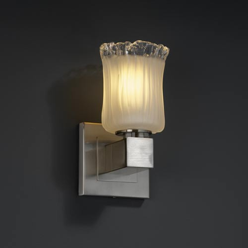 Justice Design Group Veneto Luce Aero One-Light Sconce