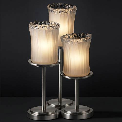 Justice Design Group Veneto Luce Dakota Three-Light Table Lamp