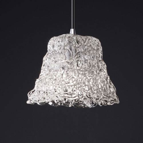 Justice Design Group Veneto Luce Modular Polished Chrome Mini Pendant