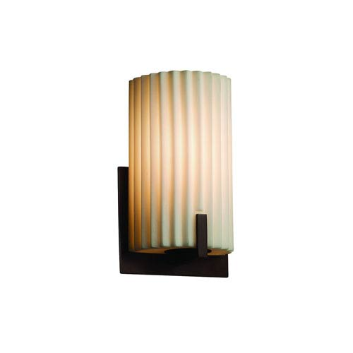 Porcelina  Dark Bronze 5.5-Inch LED Wall Sconce