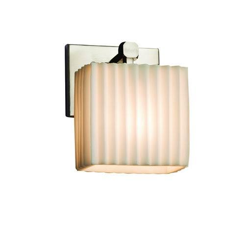 Porcelina Brushed Nickel 6-Inch LED Wall Sconce