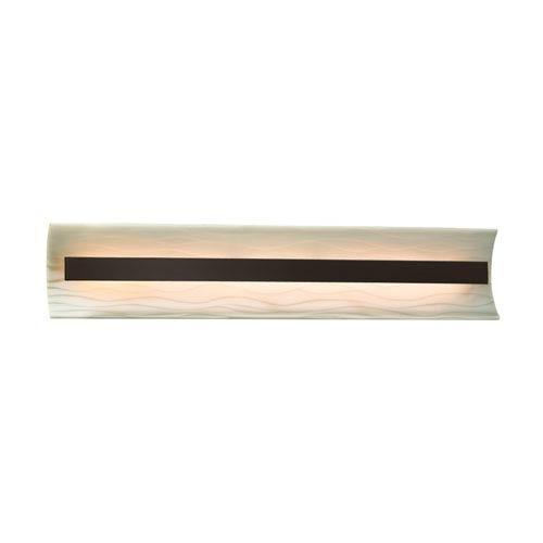 Porcelina  Dark Bronze 29-Inch LED Bath Bar