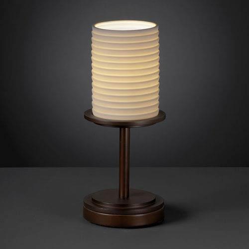 Limoges Dakota Dark Bronze Short Table Lamp