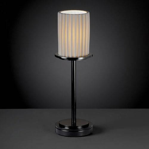 Limoges Dakota Matte Black Tall Table Lamp