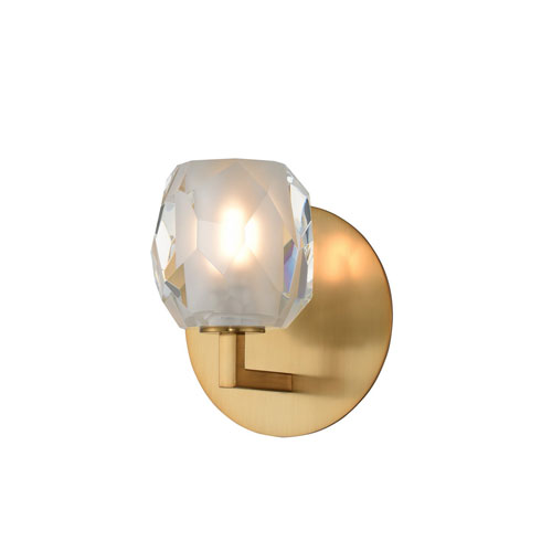 Stella Winter Brass LED One-Light Wall Sconce