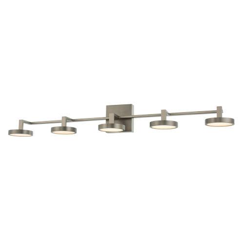 Eaton Satin Nickel Five-Light LED Bath Vanity