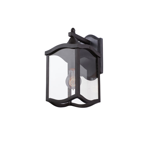 Lakewood Outdoor Aged Iron One-Light Wall Sconce