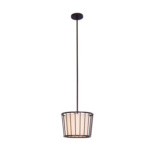 Pacifica Bronze One-Light Mini Pendant