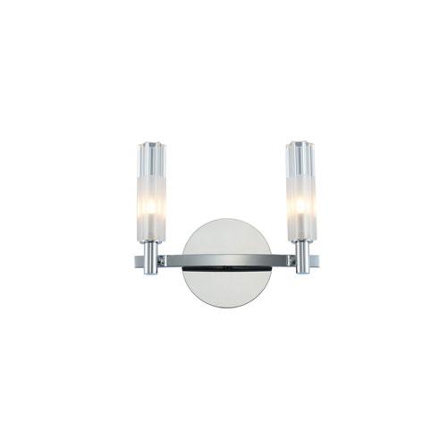 Lorne Chrome Two-Light LED Bath Vanity