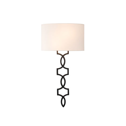 Chateau Heirloom Bronze Two-Light ADA Wall Sconce