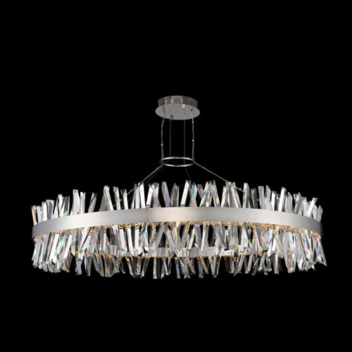 Glacier Chrome One-Light Pendant