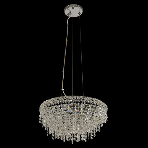 Massimo Chrome Three-Light Pendant