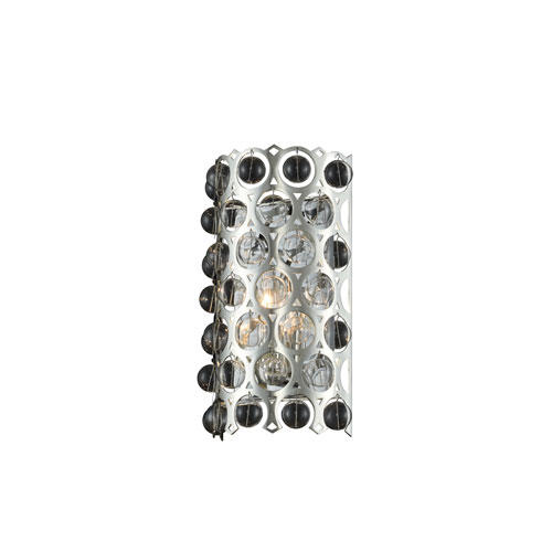 Vita Polished Silver One-Light ADA Wall Sconce