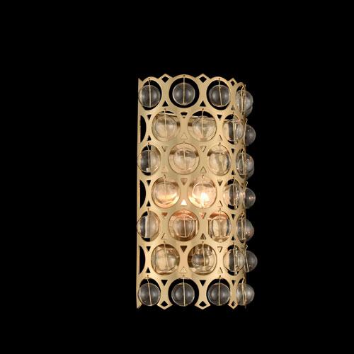 Vita Champagne Gold One-Light Sconce
