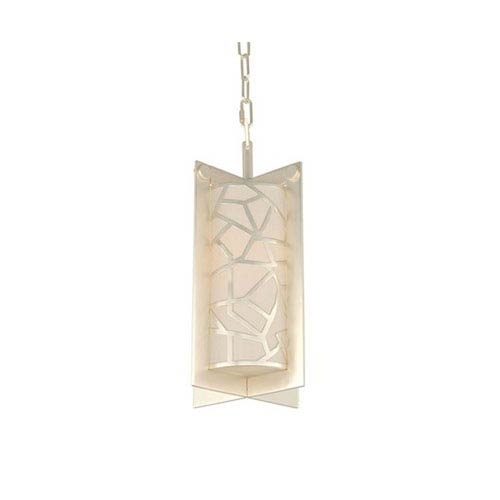 Miramar Rose Silver One Light Mini Pendant