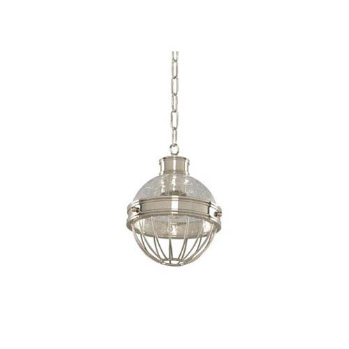 Kalco Lighting Montauk Polished Nickel One Light Mini Pendant