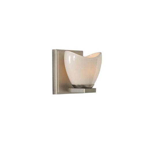 Vero Satin Nickel One Light Bath Sconce