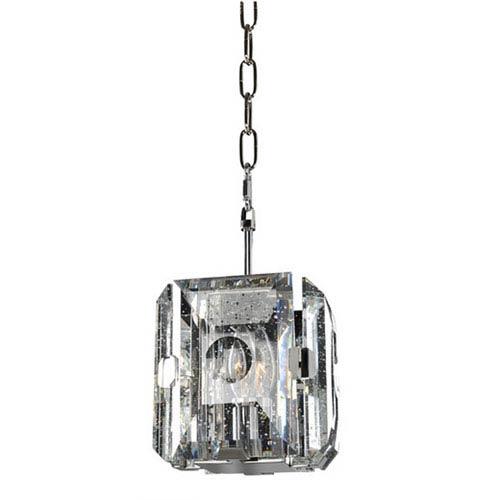 Giada Stainless Steel 1-Light 6.75-Inch Mini Pendant