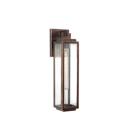 Chester Copper Patina One Light Outdoor Wall Mount