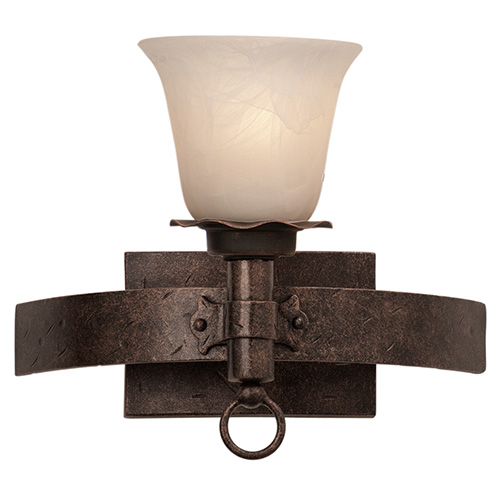 Kalco Lighting Americana Copper Claret One-Light Bath Fixture