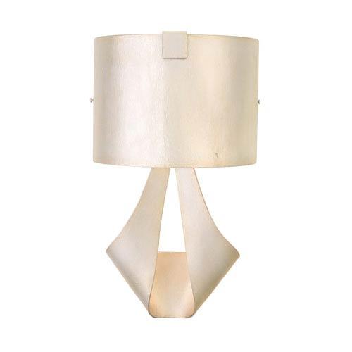 Barrymore Pearl Silver 1-Light 9-Inch Wall Bracket