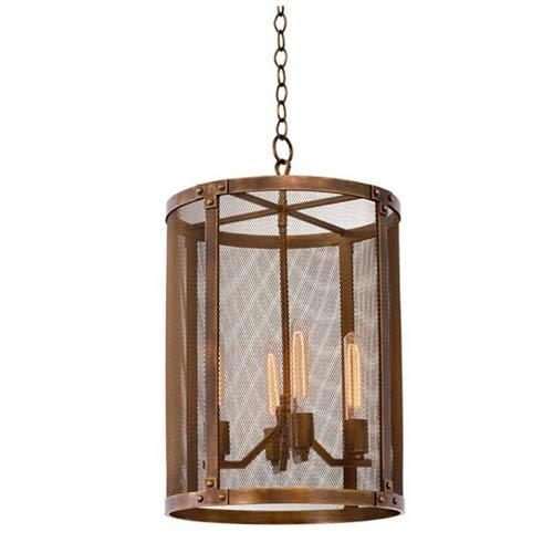 copper lighting pendants dining room chelsea copper patina 4light 16inch foyer pendant lighting free shipping bellacor