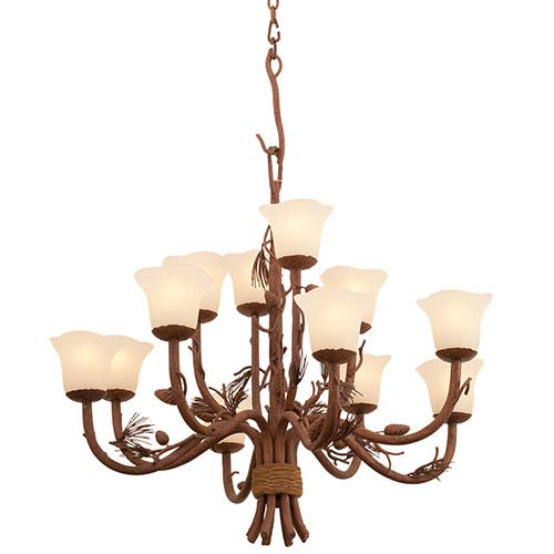Ponderosa 12-Light Chandelier