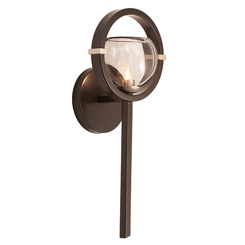 Kalco Lighting Lunaire Old Bronze One-Light Wall Sconce