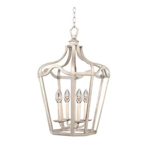 Brierfield Pearl Silver Six Fourteen Inch Light Pendant