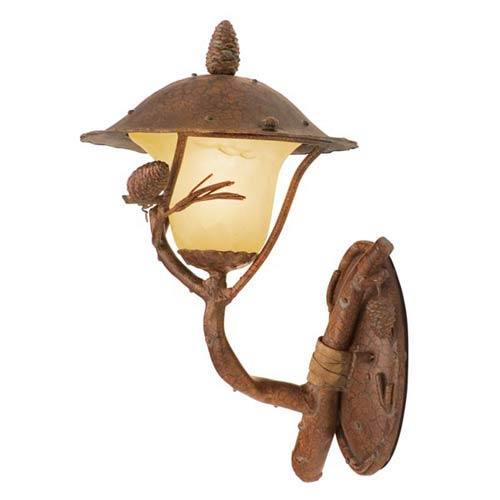 Kalco Lighting Ponderosa Small Outdoor Wall-Mounted Lantern