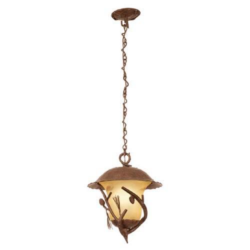 Kalco Lighting Ponderosa Outdoor Large Hanging Lantern