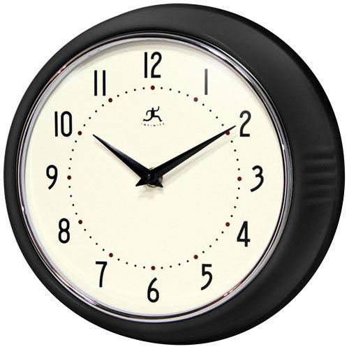 Retro Black Wall Clock