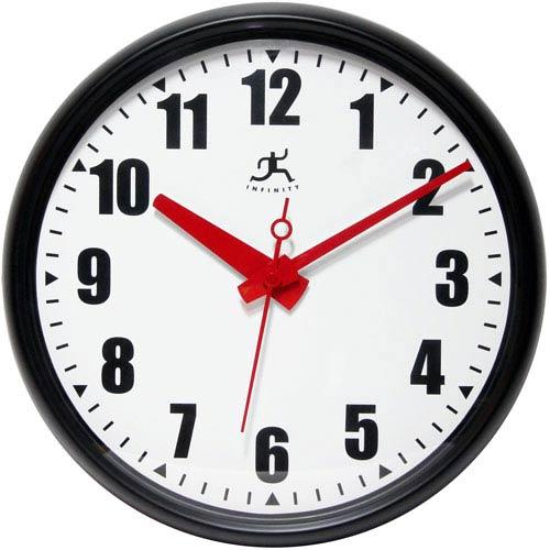 Black Impact Wall Clock