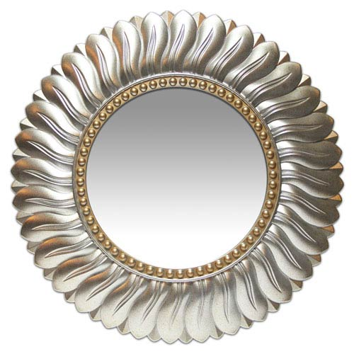Brushed Light Gold Mirror