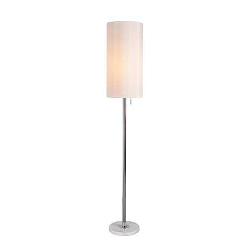 Grant Chrome One-Light Floor Lamp