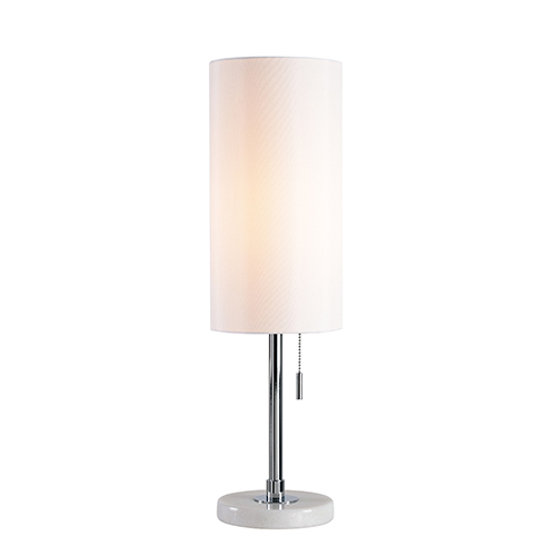 Grant Chrome One-Light Accent Lamp