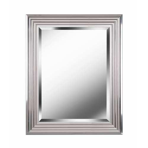 Kenroy Home Lyonesse Chrome 30-Inch  Wall Mirror