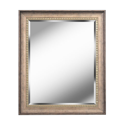 Kenroy Home Amiens Antiqued Gold 36-Inch Wall Mirror