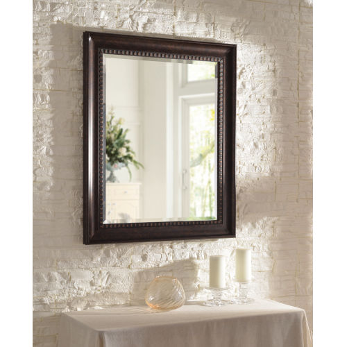 Amiens Bronze and Gold Highlight 30-Inch Wall Mirror