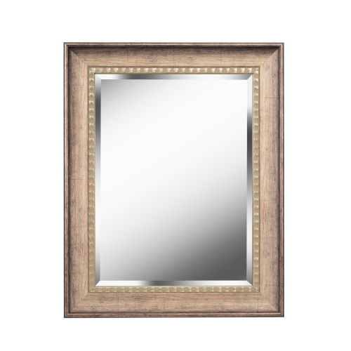 Kenroy Home Amiens Antiqued Gold 24-Inch Wall Mirror