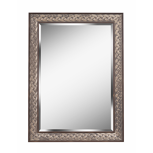 Kenroy Home Entwine Brown with Antique Gold Wall Mirror