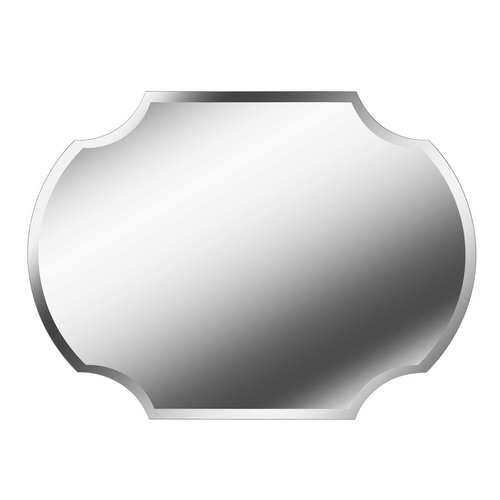 Shield Glass Wall Mirror