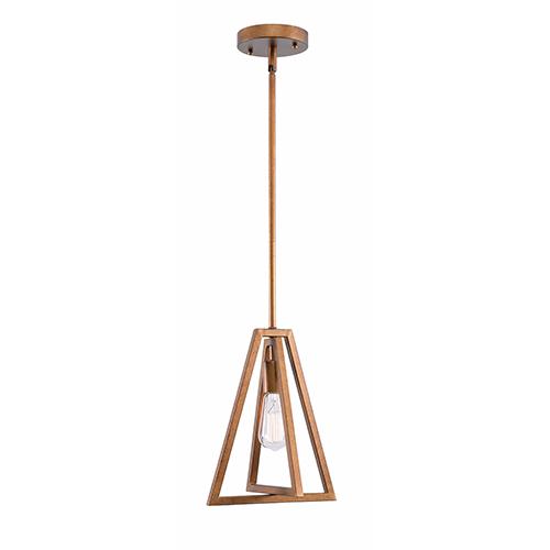 Kenroy Home Rodha Gold One-Light Mini Pendant