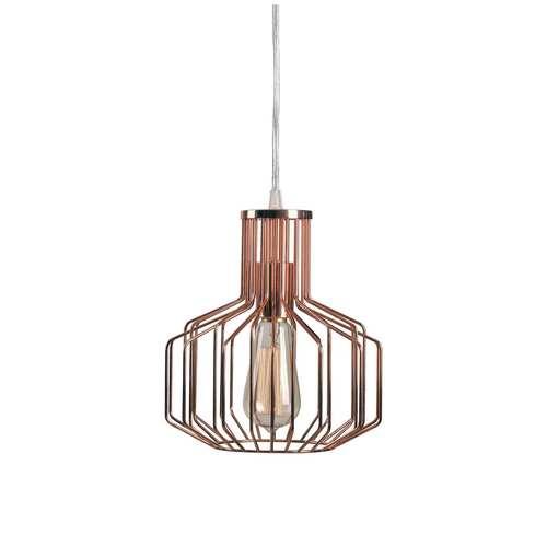 Kenroy Home Irena Copper One-Light Mini Pendant