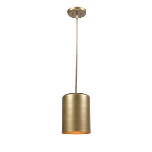 Porter Gold One-Light Mini Pendant