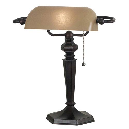 Chesapeake Oil Rubbed Bronze Bankers Lamp