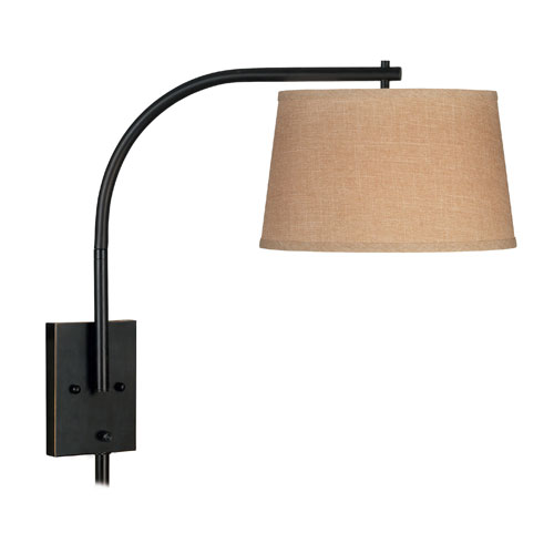 Sweep Oil Rubbed Bronze Wall Swing Arm Lamp