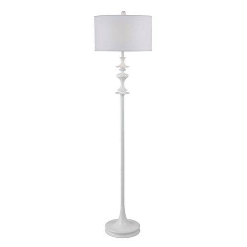 Claiborne White Gloss Floor Lamp