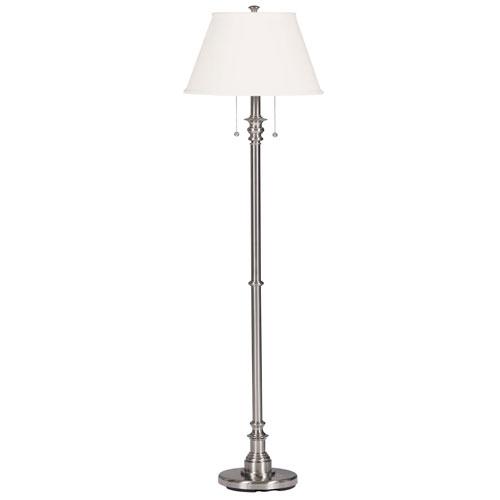 Spyglass Brushed Steel Floor Lamp