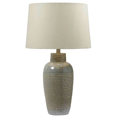 Kenroy Home Dixey Iridescent Ceramic Table Lamp